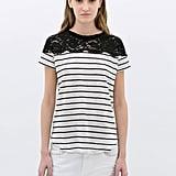 Lace Linen T-Shirt ($30)