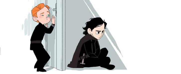 This Star Wars and Frozen Crossover Art Is Actually Hilarious