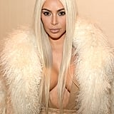Kim's Kardashian-Coordinated Look Didn't Stop Her From Stealing the Yeezy Show