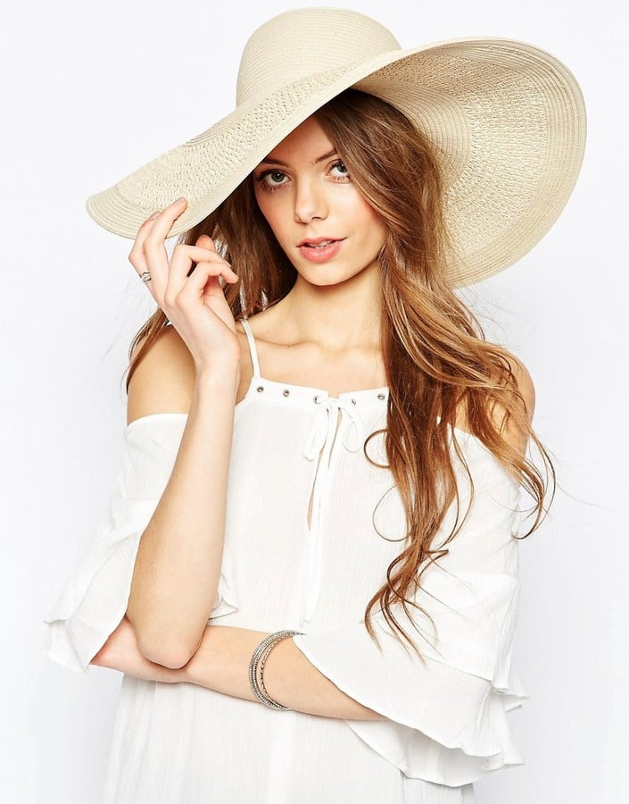 c0a009b5daf ASOS Oversized Straw Hat With Crochet Insert ( 25)