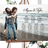 Custom Photo Wedding Seating Chart