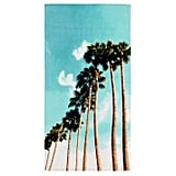 PB Teen Photoreal Palm Beach Towel