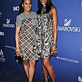 Kerry Washington and Naomi Campbell linked up at the 2014 ACE Awards in NYC on Monday.