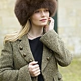 Kate's Exact Lacorine Sumac  Luxury Alpaca Fur Hat