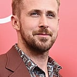 Ryan Gosling Promoting First Man Pictures
