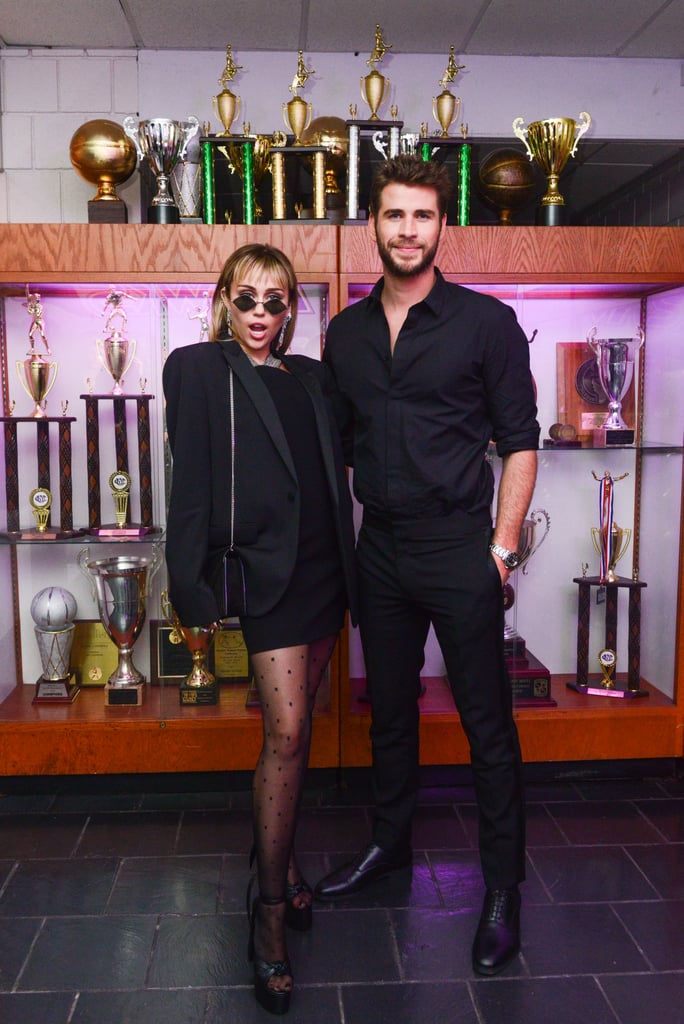 Miley Cyrus and Liam Hemsworth at the Gucci Met Gala Afterparty