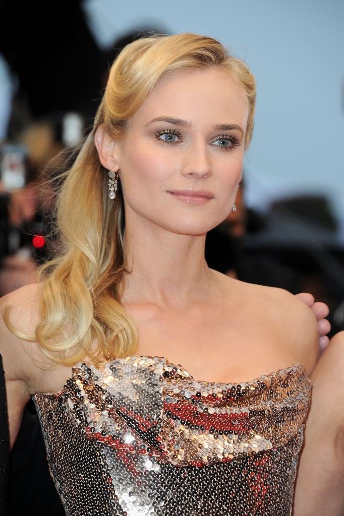 Juror Diane Kruger attended the premiere of Amour.