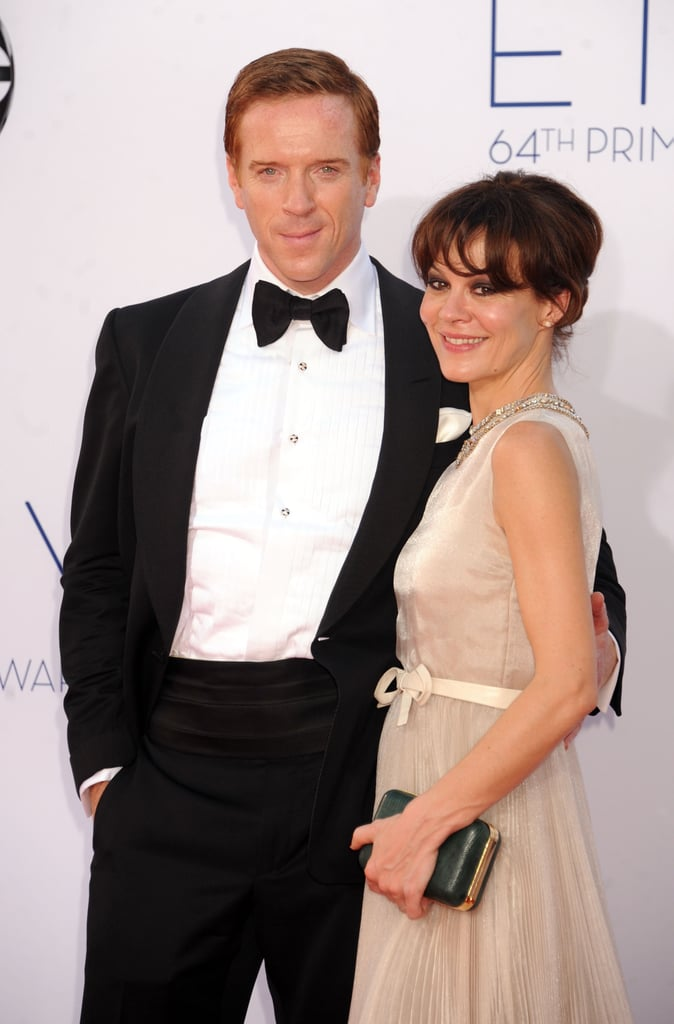 Homeland's Damian Lewis had his arm around wife Helen ...