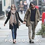 Emma Stone and Andrew Garfield held hands in NYC on Sunday.