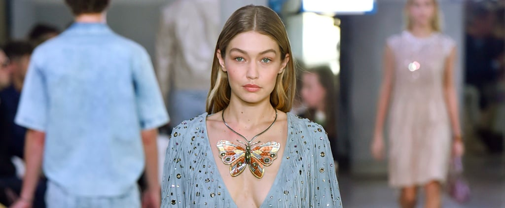 Don't Let Gigi Hadid's Giant Butterfly Necklace Distract You From the Rest of Her Outfit