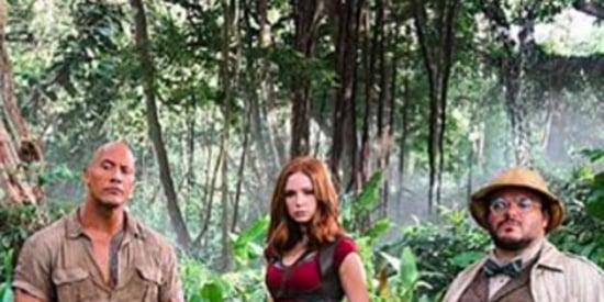 First Peek Of 'Jumanji' Reboot Offers A Lesson In What Not To Wear To The Jungle