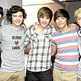 One Direction at a Book Signing in Manchester, England, in 2011