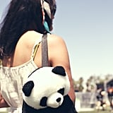 We're usually not fans of teddy bear backpacks, but this one was too adorable to resist.