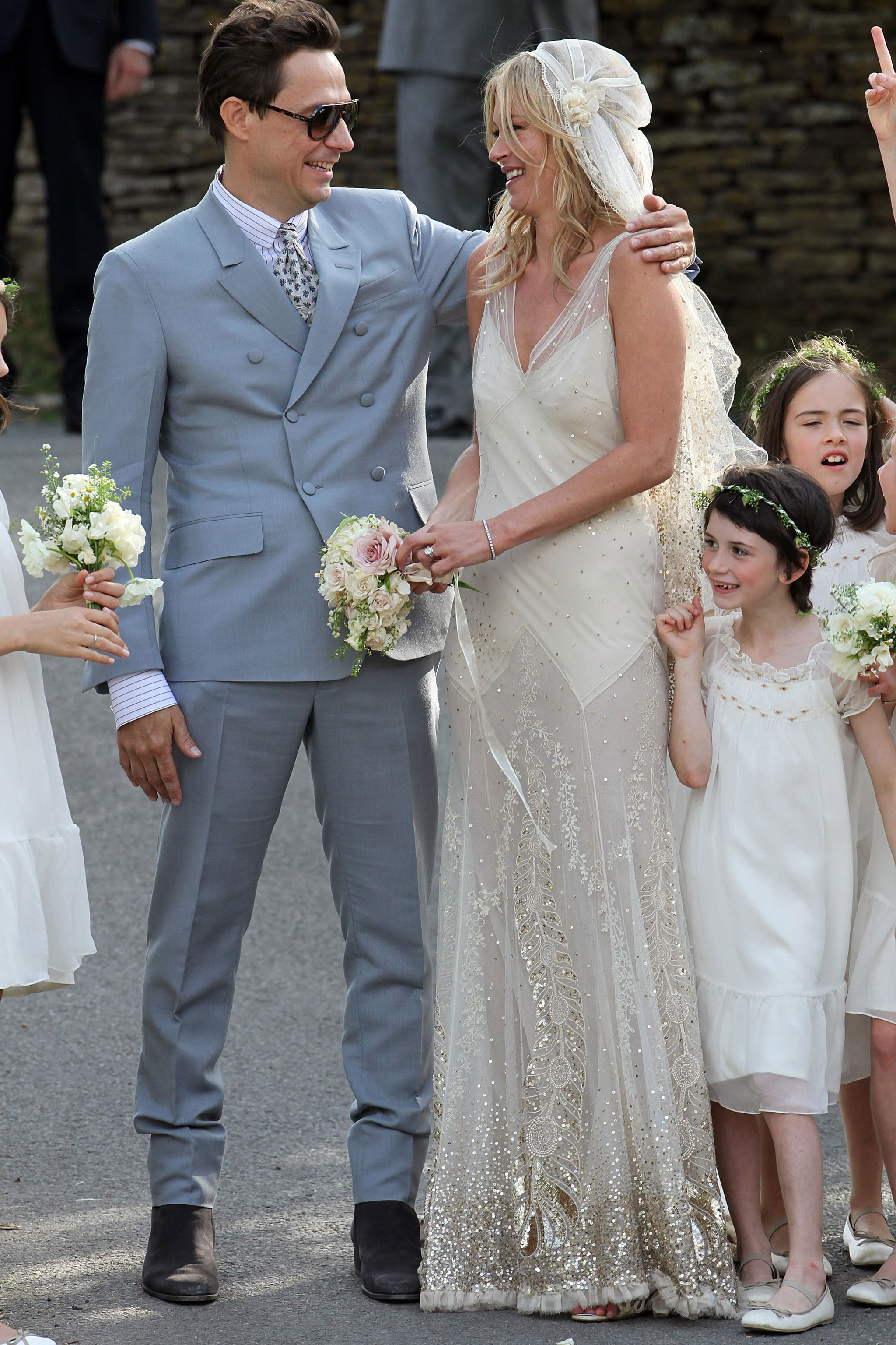 Kate Moss and Jamie Hince Wedding Pictures With Kate Moss Galliano ...