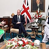 Prince William and Kate Middleton Pakistan Royal Tour Photos
