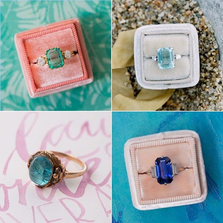Mermaid Engagement Rings