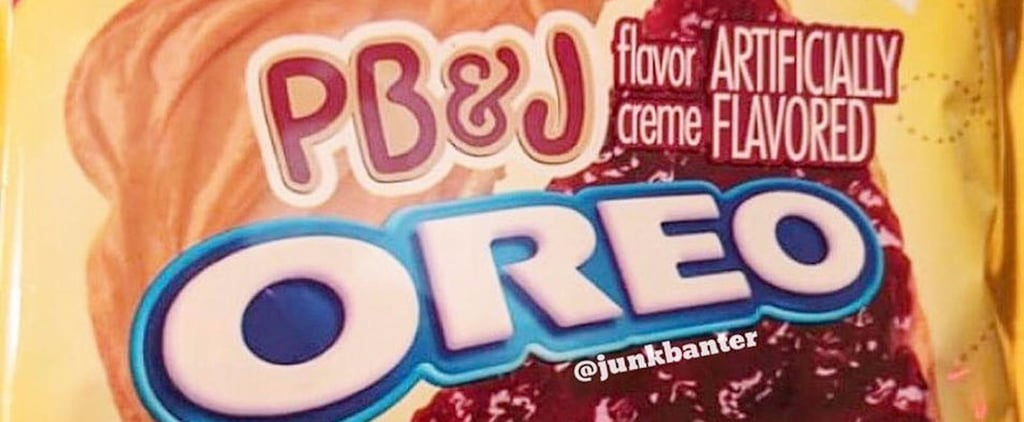 PB&J Oreos Are Hitting Shelves Soon, and Holy Smokes, We Can't Wait!