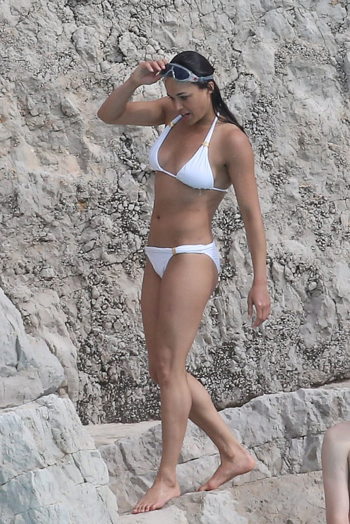 Michelle Rodriguez proved she still had a rockin' bikini body while she was in France for May 2015's Cannes Film Festival.