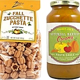 Autumnal Harvest Pasta Sauce and Zucchette Pasta