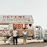 Salvation Mountain Engagement Shoot