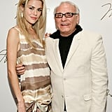 Rachael met up with designer Max Azria backstage at his A/W 2007 show.