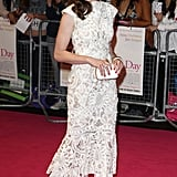 Anne opted for ladylike glamour in a lace Alexander McQueen creation at the London premiere of One Day in August 2011.