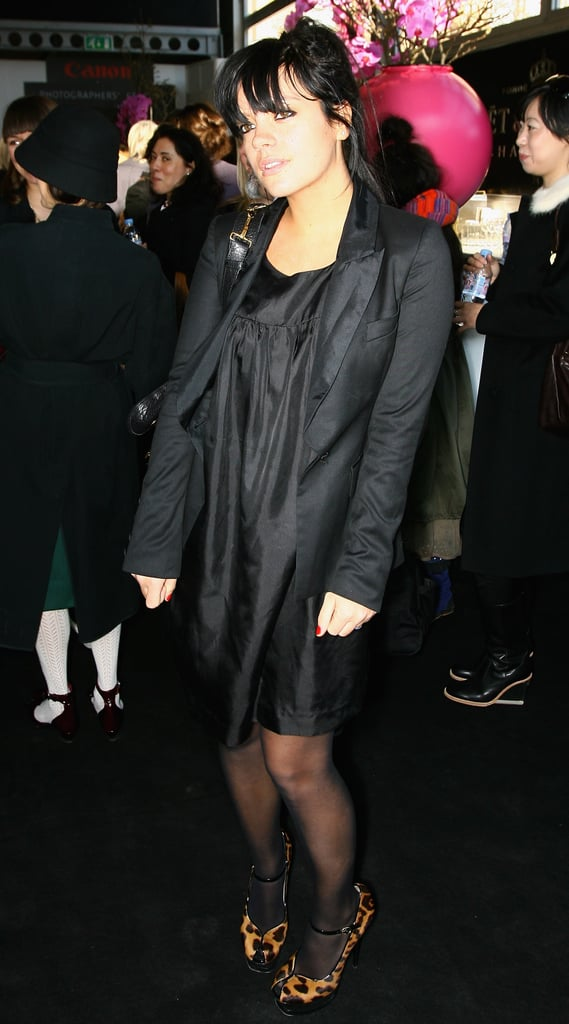 The Look for Less: Lily Allen at London Fashion Week