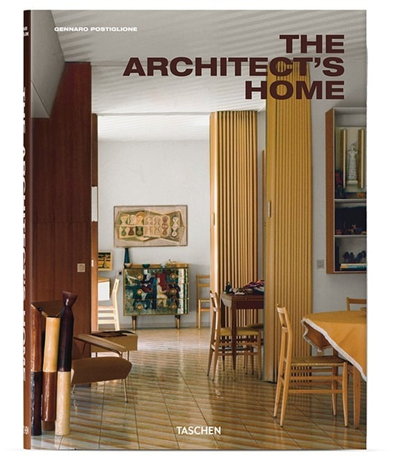 Architecture Coffee Table Books: Taschen The Architect's Home ($60)