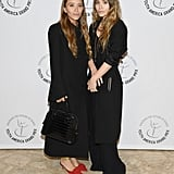Mary-Kate Olsen Wearing Red Mules