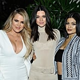 Last Night's Kardashian Dress Code: Leg Slits and Crop Tops Only