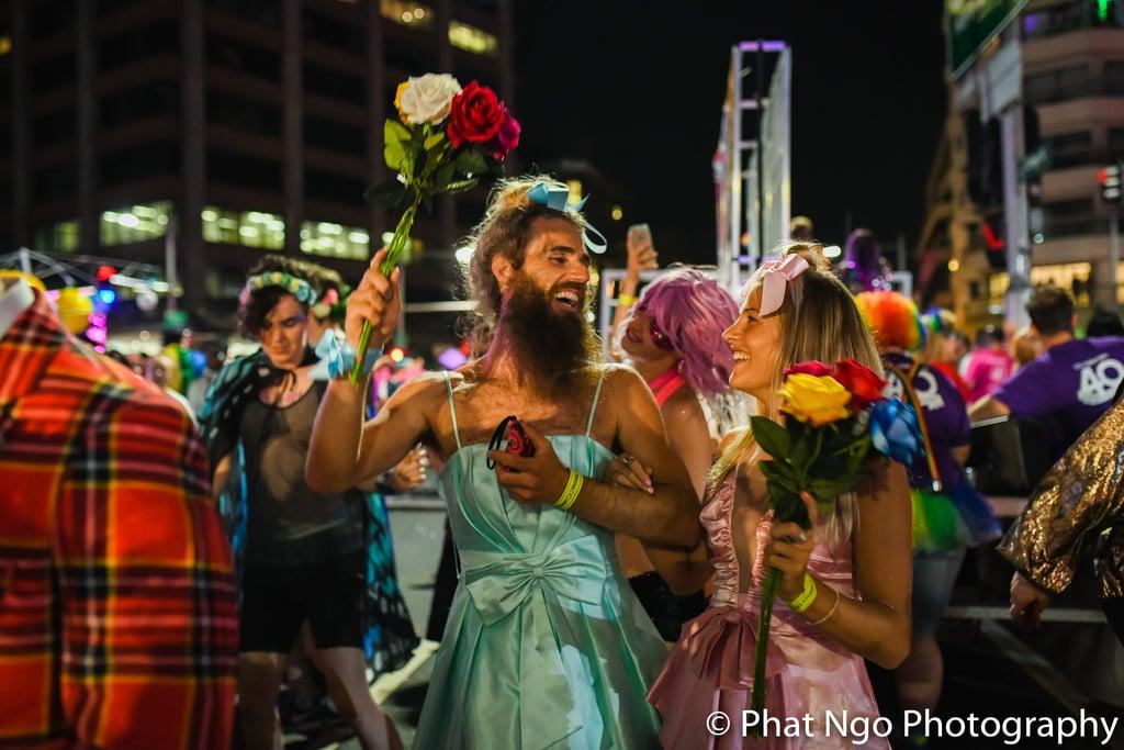Mardi Gras Wedding 2018
