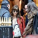 Jessica Biel shopped in Paris.