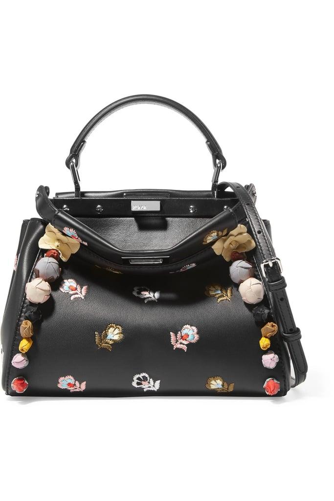 936ff5fb949a3 Fendi Peekaboo Mini Shoulder Bag
