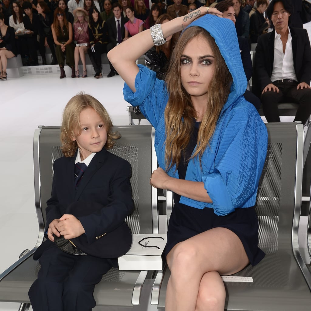 Celebrities Front Row at Paris Fashion Week Spring 2016