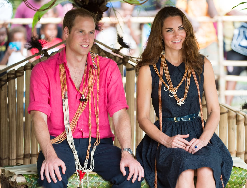 Prince William Kate Middleton With Topless Soloman Islanders ...