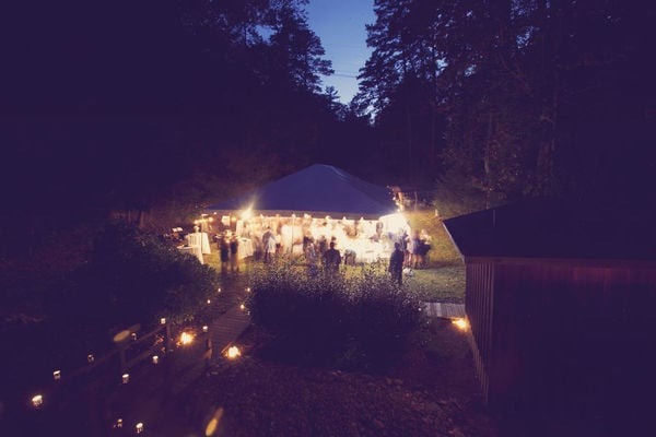 Reception Under the Stars