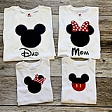 Matching Disney Family Shirts