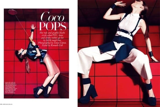 Harper's Bazaar Singapore April 2012