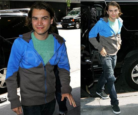 Photos of Emile Hirsch in NYC