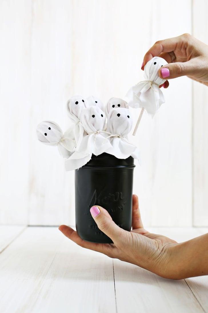 Ghost Lollipop Bouquet Halloween Desserts Popsugar
