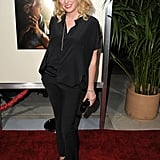 Virginia Madsen wore black from head to toe at The Descendants premiere in LA.