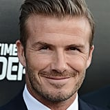 David Beckham at Time Warner Sports Launch Party | Pictures