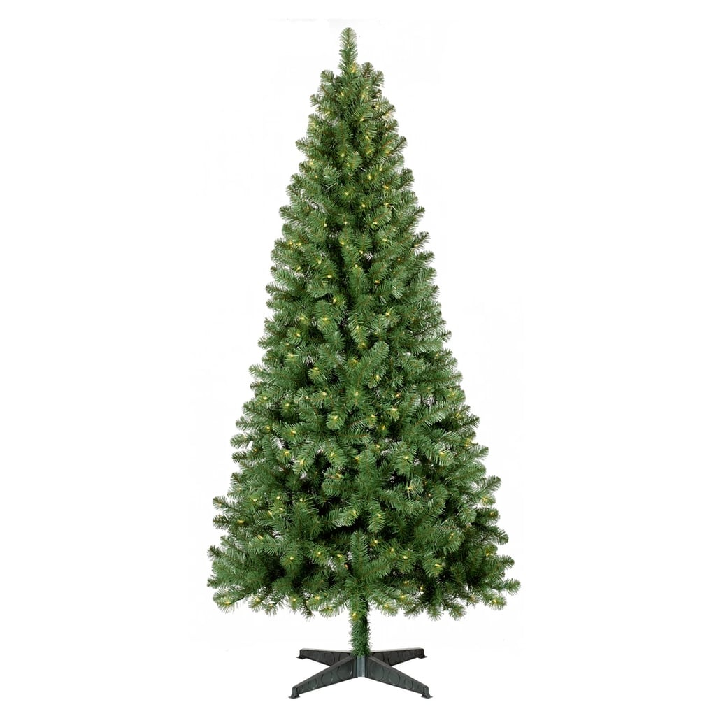 7 Ft. Prelit Artificial Christmas Tree Alberta Spruce ...