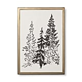 Hearth & Hand with Magnolia Framed Tree Art ($13)