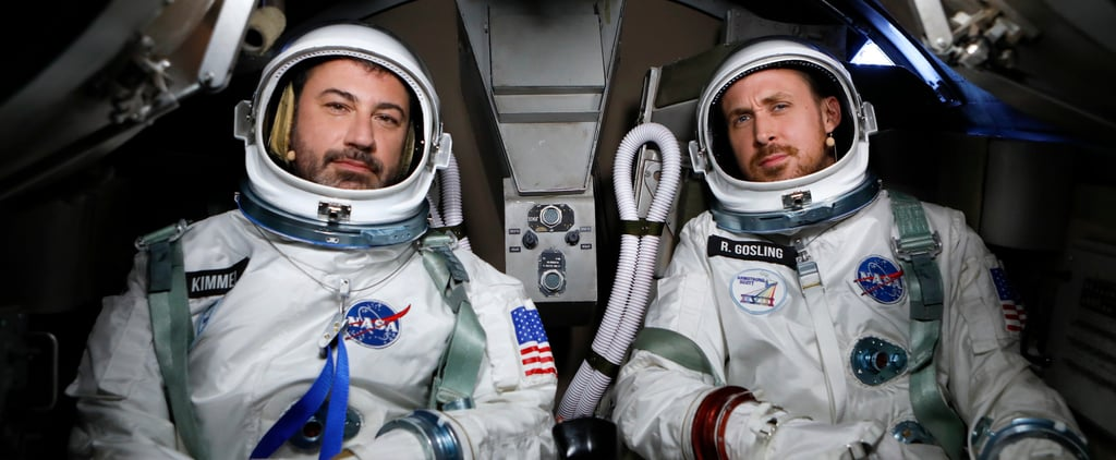 Ryan Gosling and Jimmy Kimmel Go to Space Video 2018