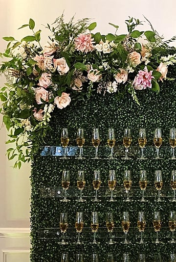 Wedding Champagne Walls