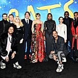 The Cast at the Cats World Premiere in NYC