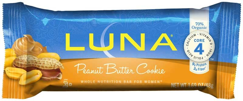 Peanut Butter Cookie Luna Bar