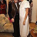 Pictured: Gwyneth Paltrow and Elizabeth Saltzman