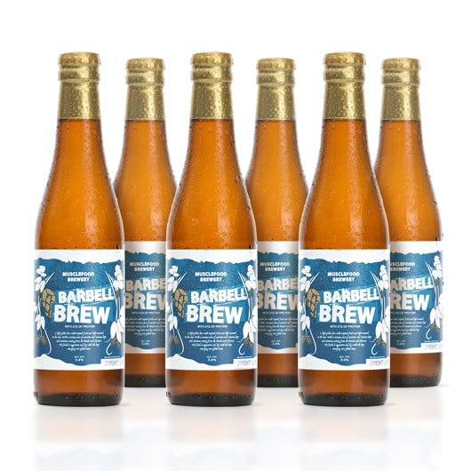 High-Protein, Low-Carb Barbell Brew Beer
